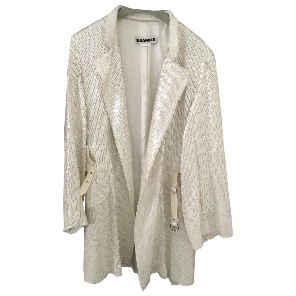 Jil Sander - Manteau   pour femme - blanc