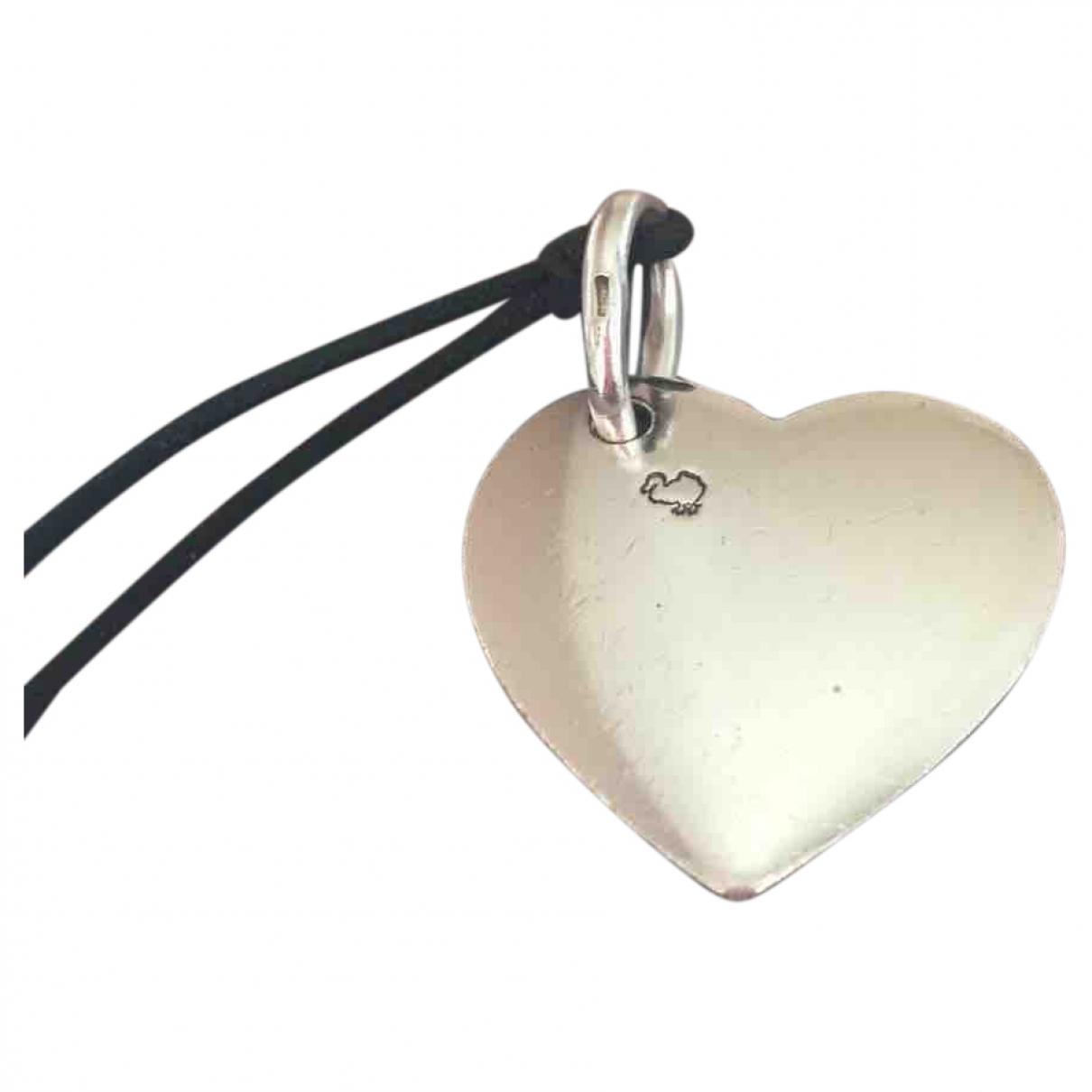 Dodo Pomellato Coeur Anhaenger in  Silber Silber