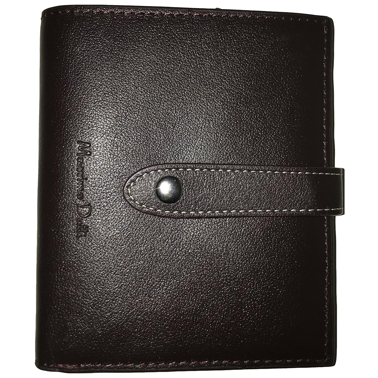 Massimo Dutti \N Brown Leather wallet for Women \N