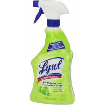 Lysol All Purpose Cleaner, Trigger, Lemon / Green Apple, 650 ml - 293969