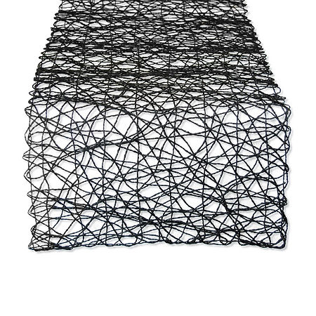 Design Imports Table Runner, One Size , Black