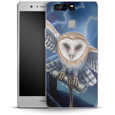 Huawei P9 Silikon Handyhuelle - Heart of The Storm von Lisa Parker