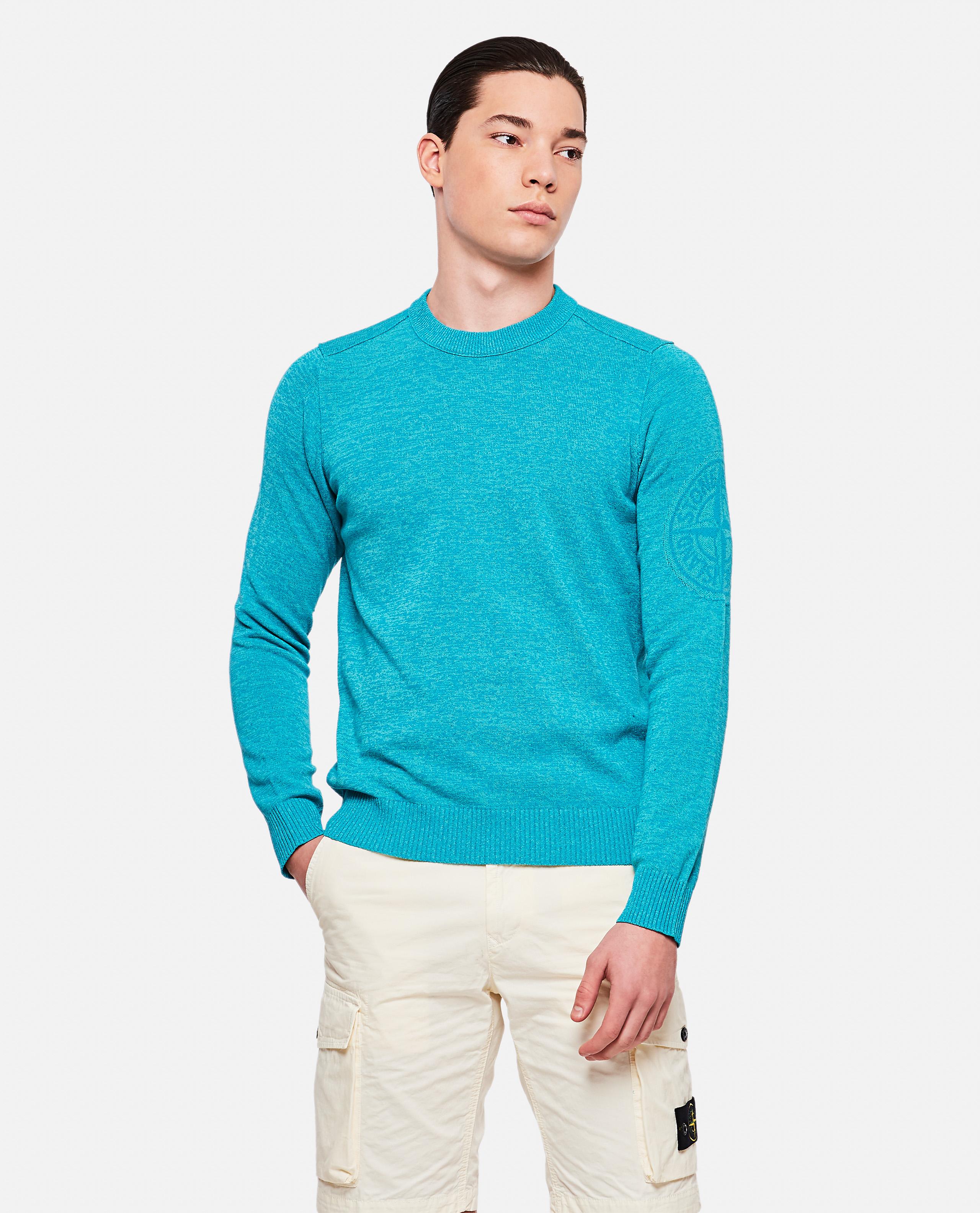 Logo inlay sweater