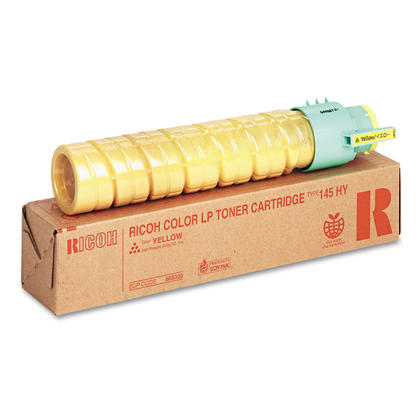 Ricoh 888309 Type 145 Original Yellow Toner Cartridge High Yield
