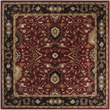 Caesar CAE-1031 6' Square Traditional Rug in