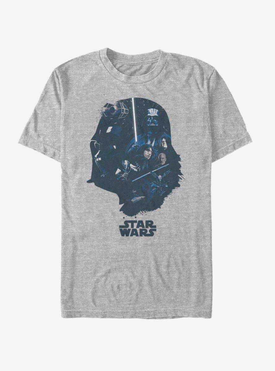 Star Wars Vader Helmet Fill T-Shirt