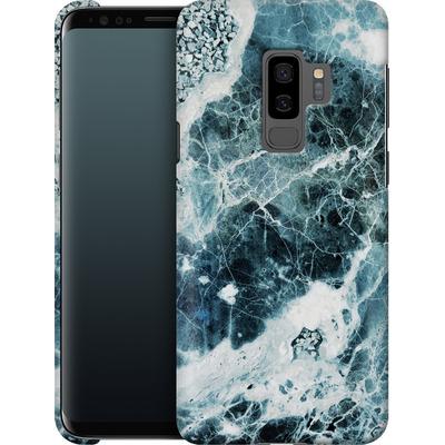 Samsung Galaxy S9 Plus Smartphone Huelle - Blue Sea Marble von Emanuela Carratoni