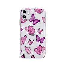 1pc Butterfly Clear iPhone Case