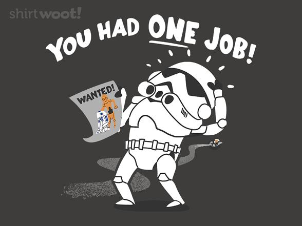 Droid Identifier T Shirt