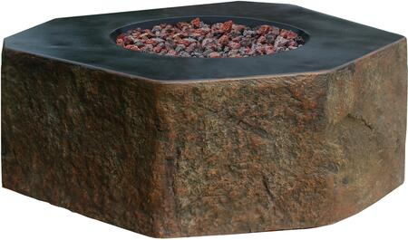 OFG105-LP Columbia Fire Table with 12