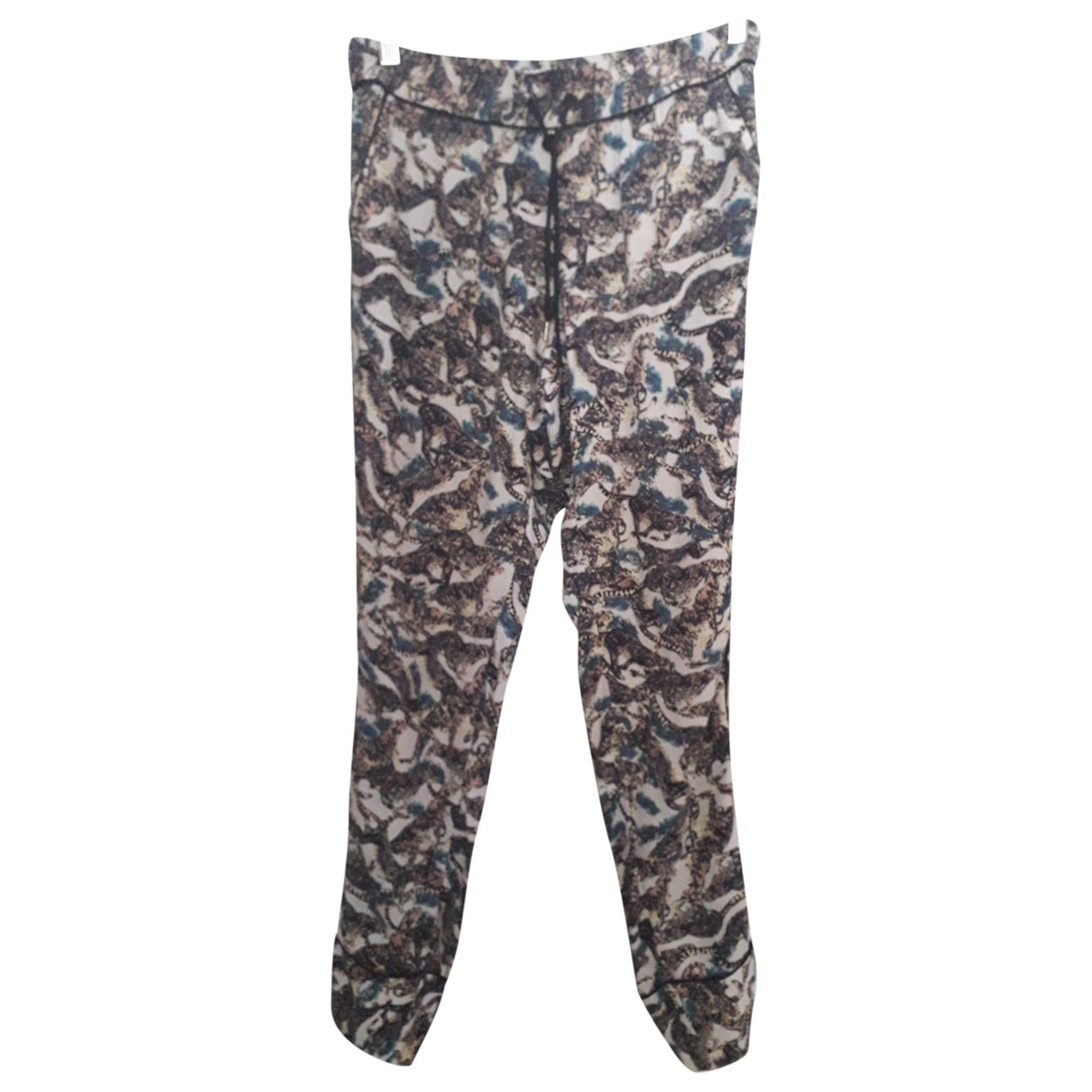 Zadig & Voltaire \N Multicolour Trousers for Women 38 FR