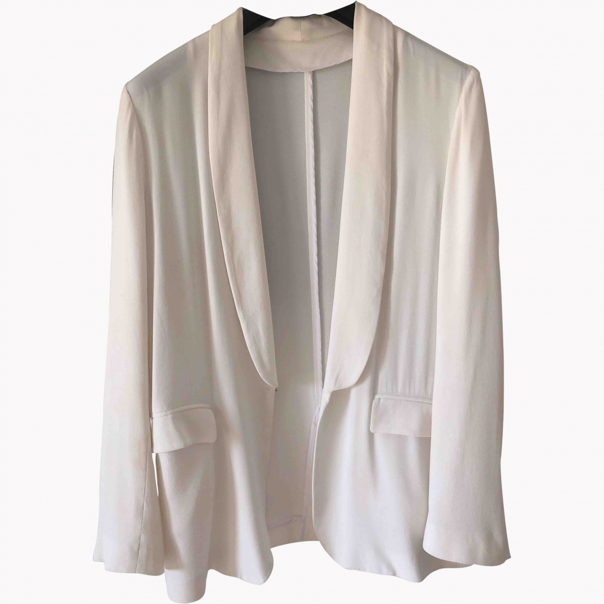 Msgm \N White jacket for Women 42 IT