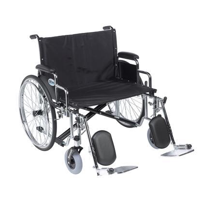 std30ecdda-elr Sentra Ec Heavy Duty Extra Wide Wheelchair  Detachable Desk Arms  Elevating Leg Rests  30
