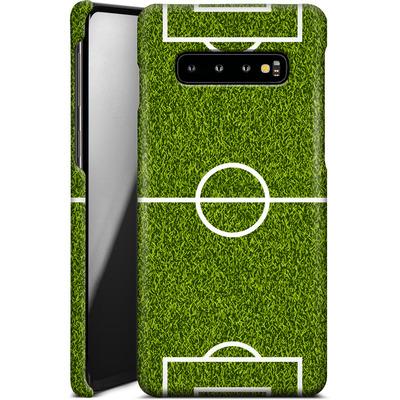Samsung Galaxy S10 Plus Smartphone Huelle - Soccer Field von caseable Designs