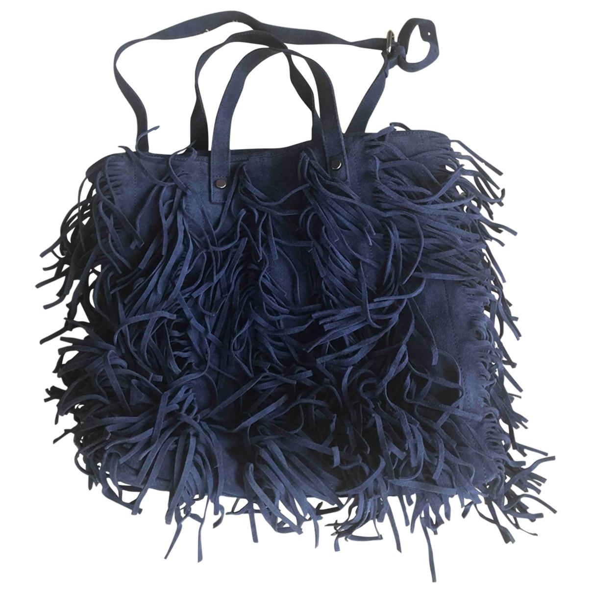 Gianni Chiarini \N Blue Leather handbag for Women \N