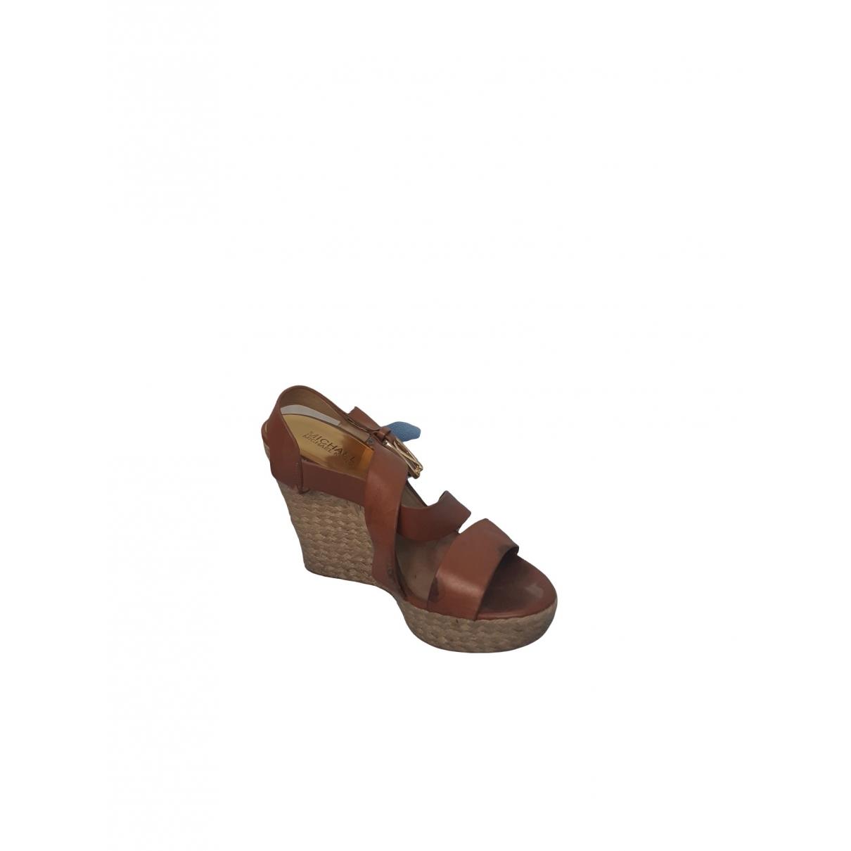 Sandalias de Cuero Michael Kors