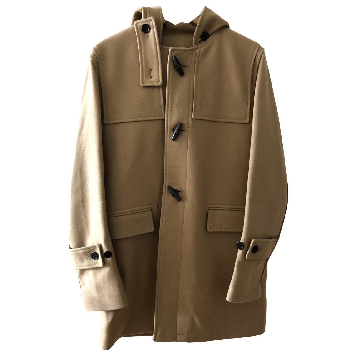 Sandro \N Beige Wool coat  for Men M International