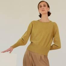 Jersey tejido fino de lana