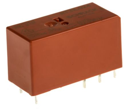 TE Connectivity , 24V dc Coil Non-Latching Relay SPDT, 16A Switching Current PCB Mount Single Pole