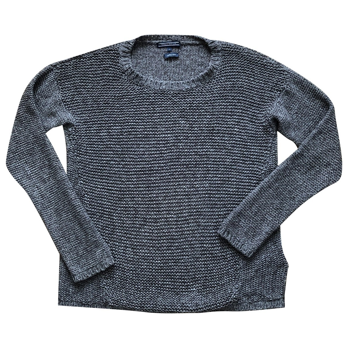 Tommy Hilfiger \N Anthracite Cotton Knitwear for Women M International