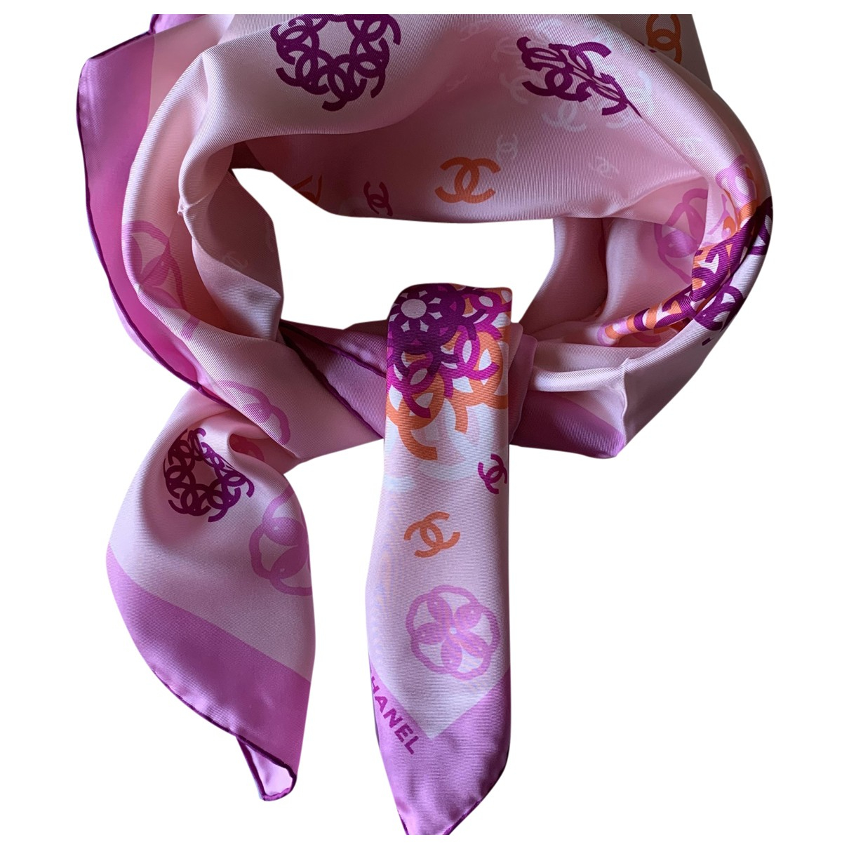 Pañuelo de Seda Chanel