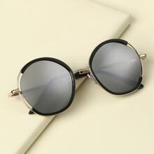 Kleinkind Kinder Sonnenbrille mit rundem Rahmen