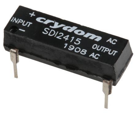 Sensata / Crydom 1.5 A rms Solid State Relay, Zero Cross, PCB Mount, SCR, 280 V rms Maximum Load