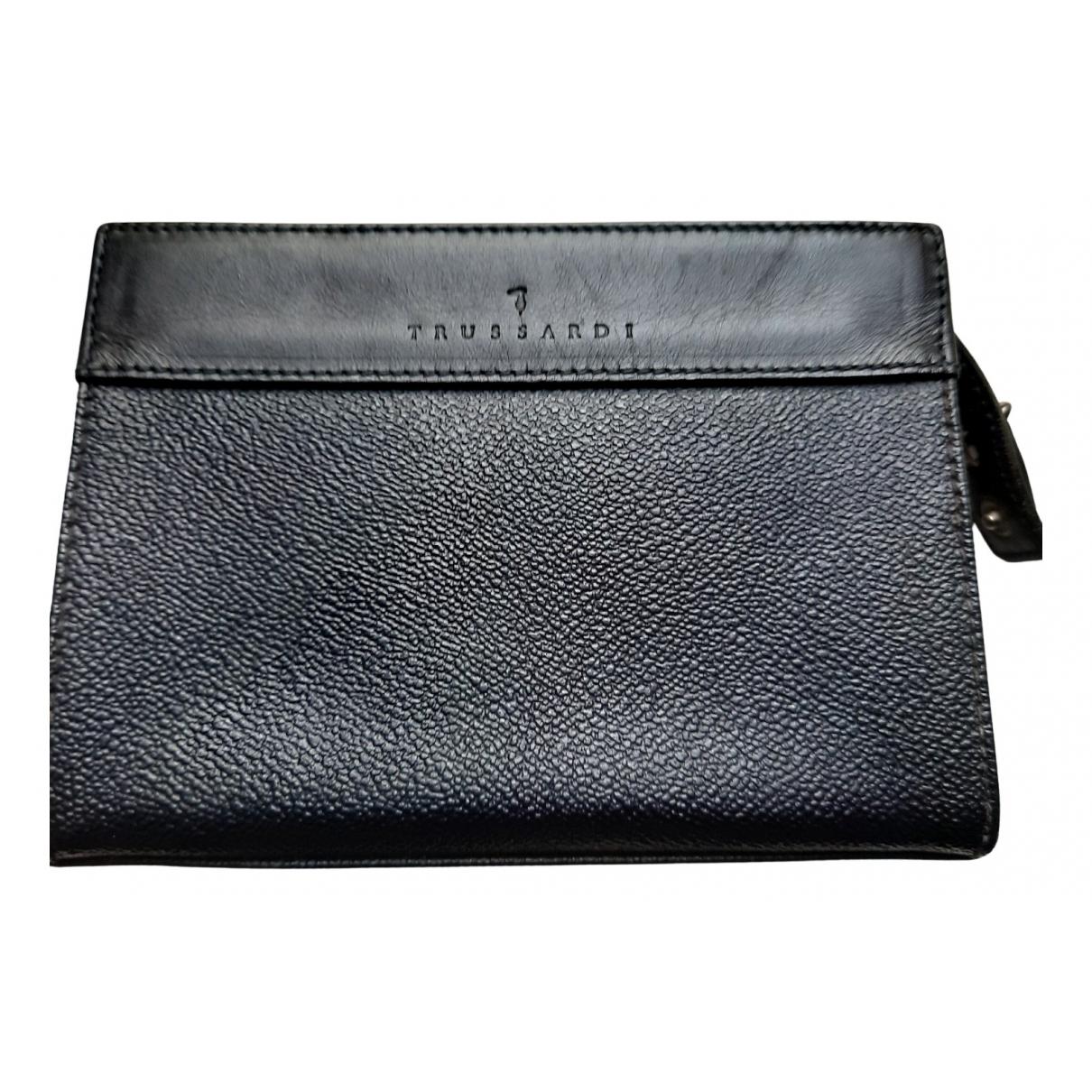 Trussardi N Blue Leather Purses, wallet & cases for Women N