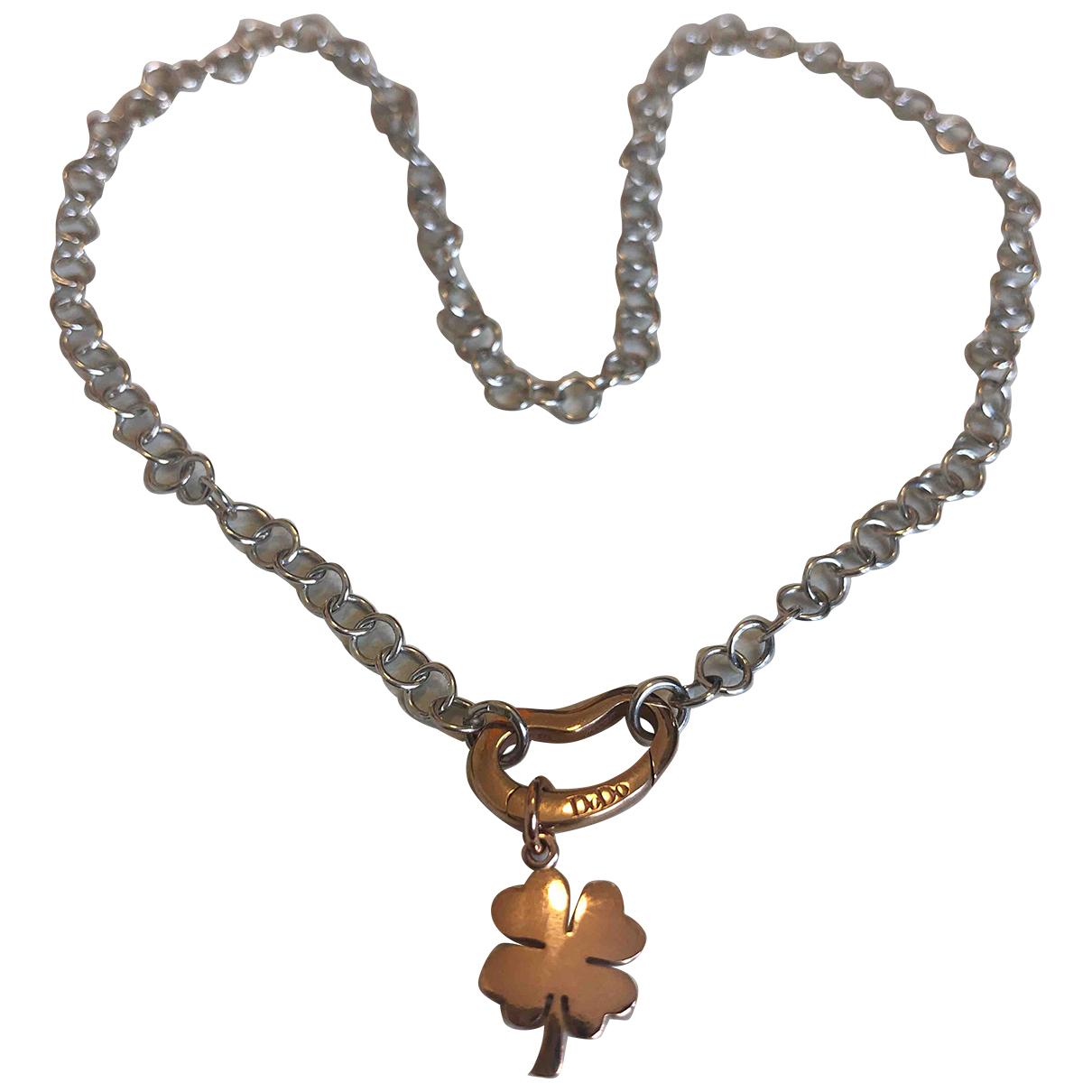 Dodo Pomellato - Collier Trefles pour femme en or rose - dore