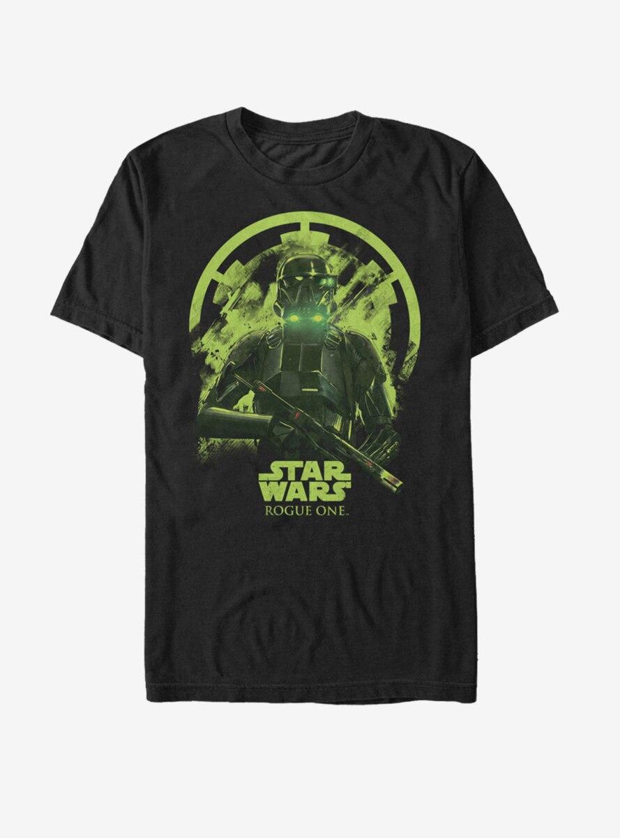 Star Wars Death Trooper Deathly Glow Print T-Shirt