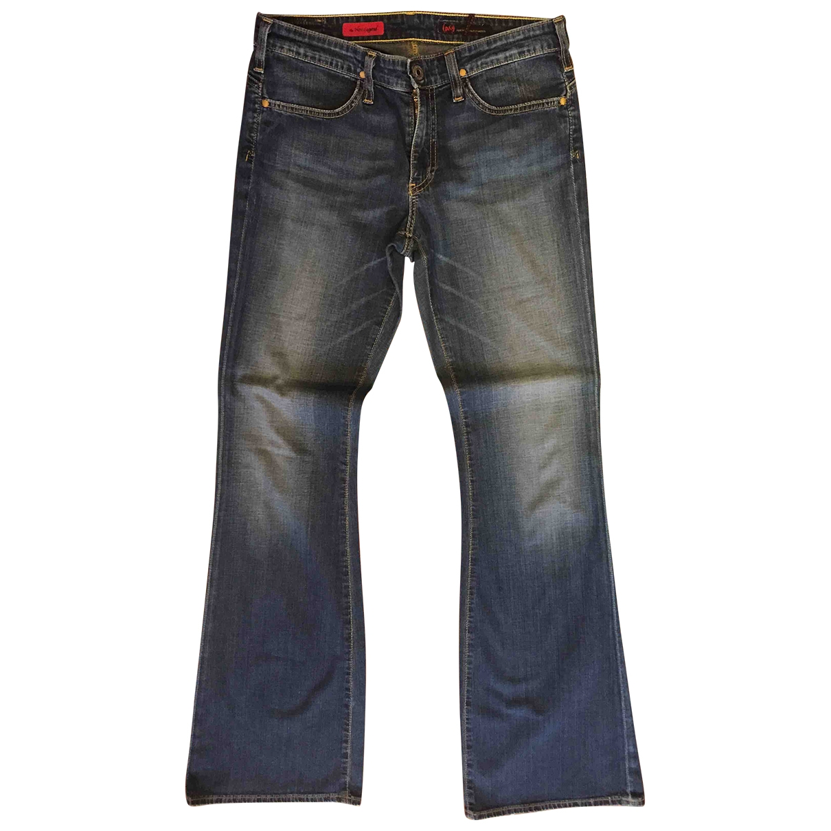 Adriano Goldschmied \N Blue Cotton - elasthane Jeans for Women 28 US