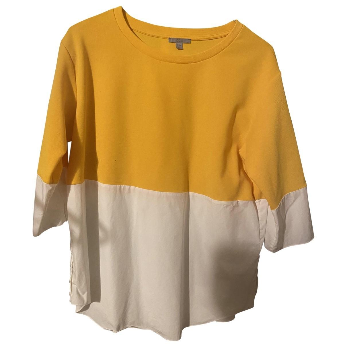 Cos - Pull   pour femme en coton - blanc