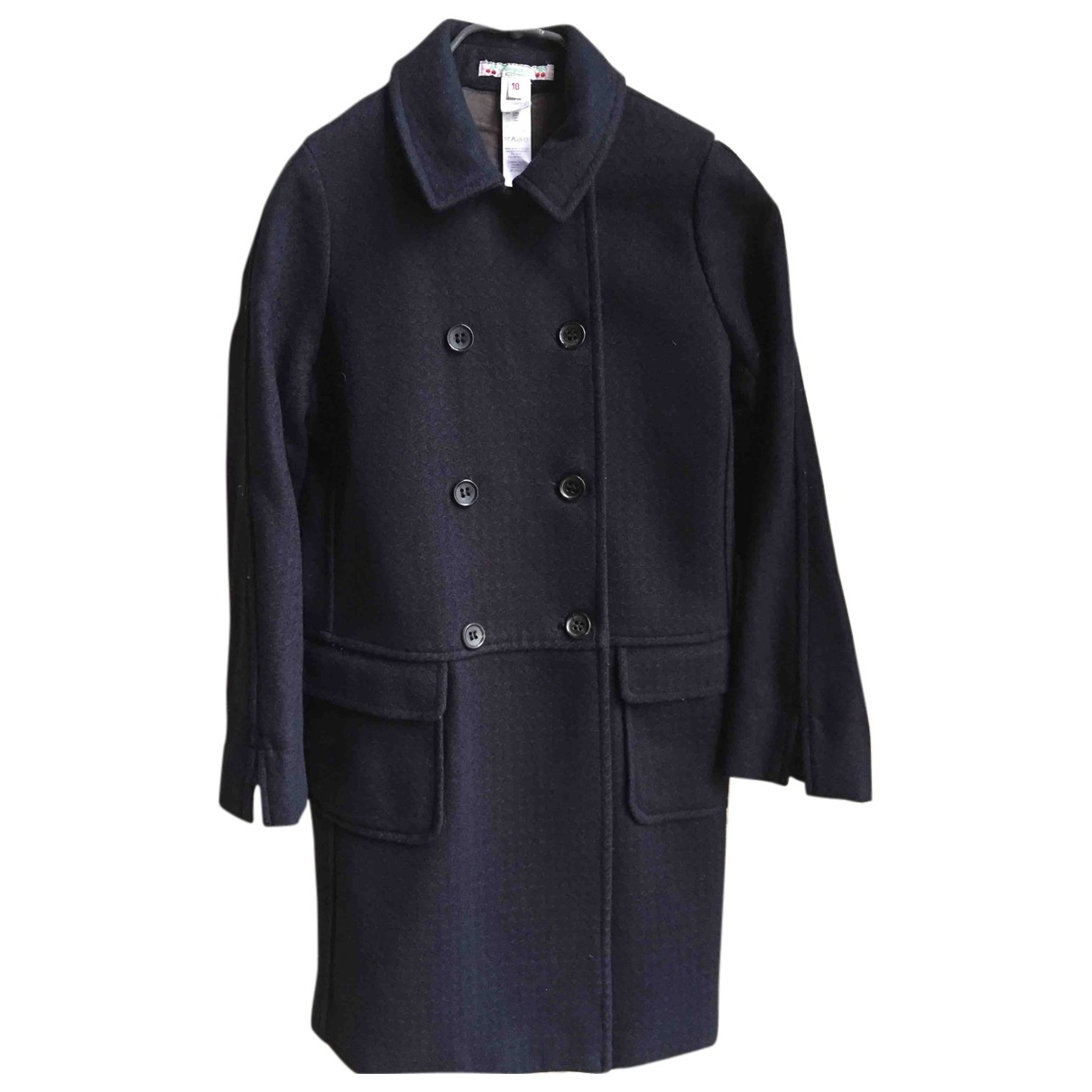 Bonpoint \N Navy Wool jacket & coat for Kids 10 years - up to 142cm FR