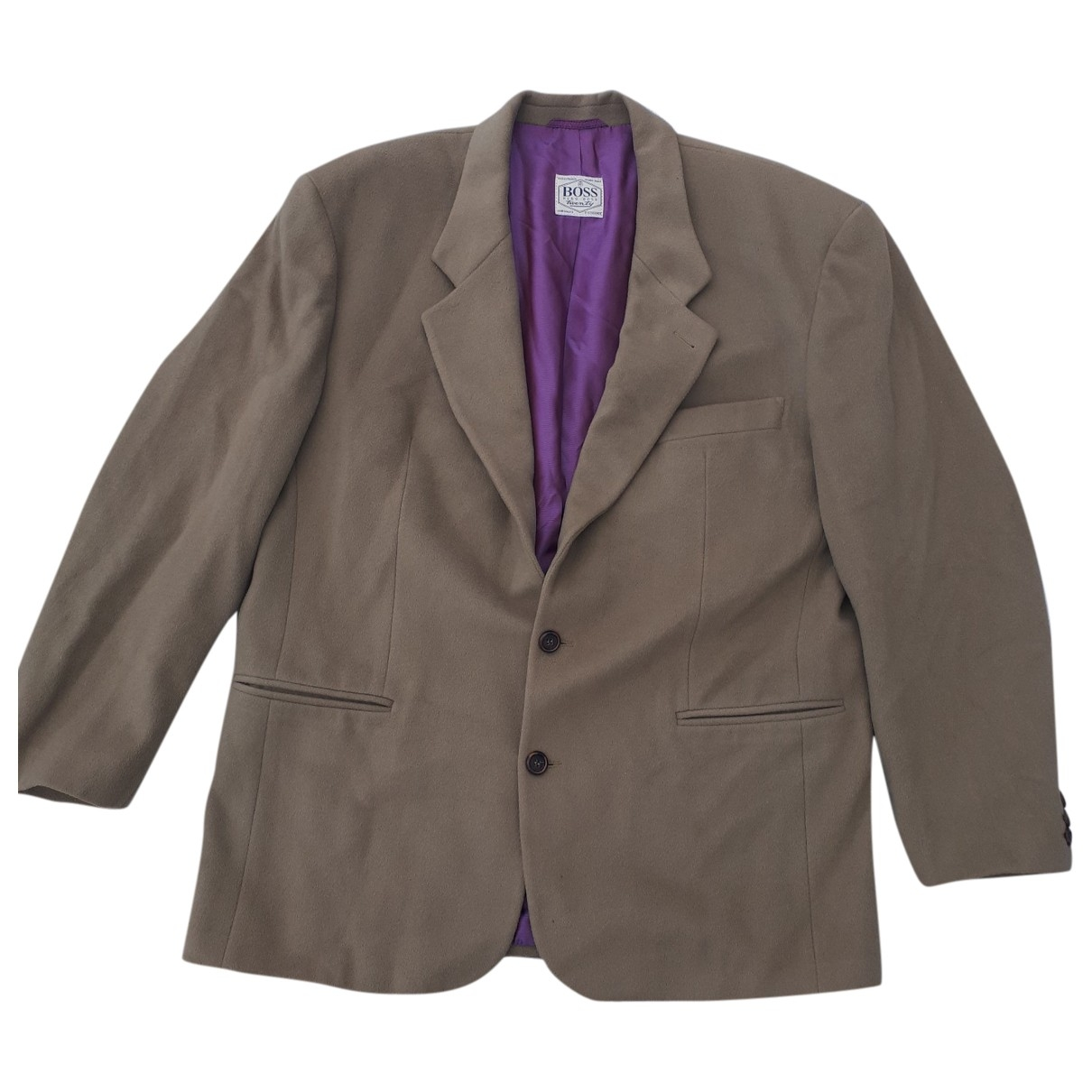 Boss \N Khaki Cashmere jacket  for Men XL International