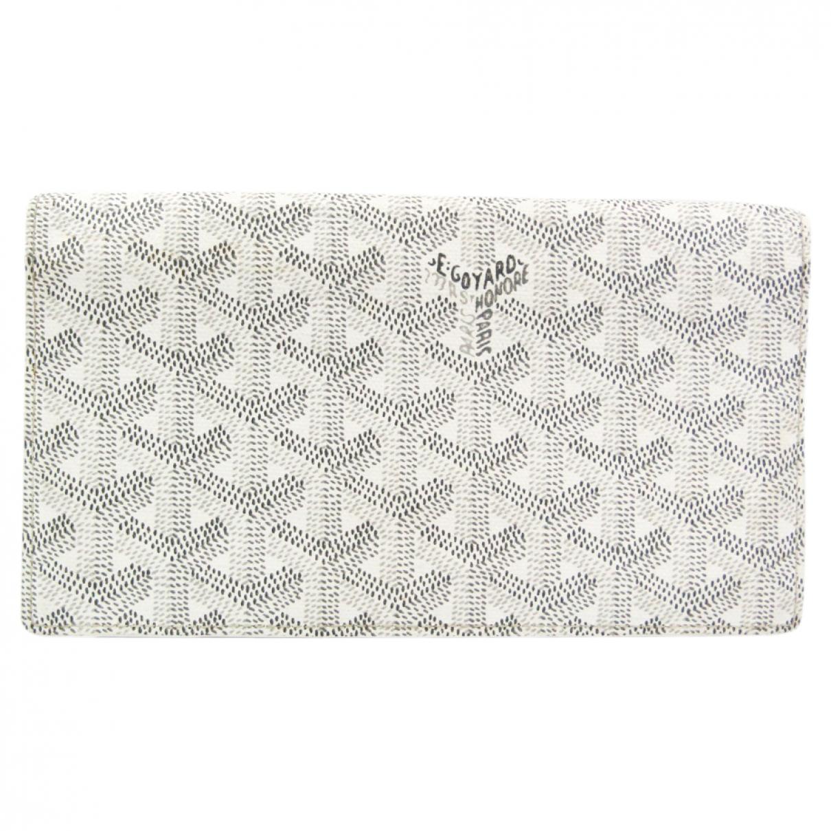 Goyard Richelieu Grey Cloth wallet for Women \N