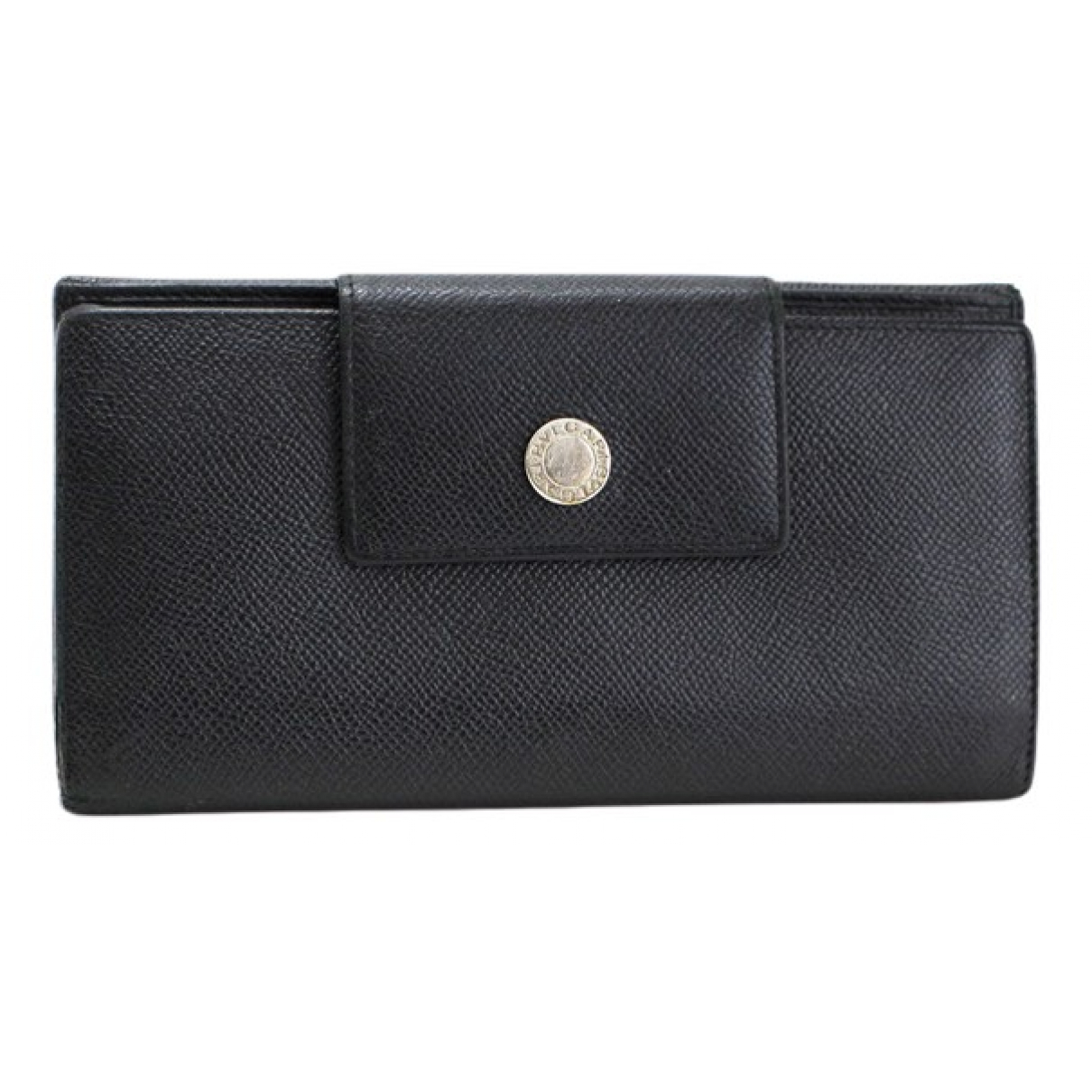 Bvlgari \N Black Leather wallet for Women \N