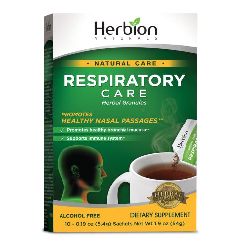 Respiratory Care 10 Packets by Herbion