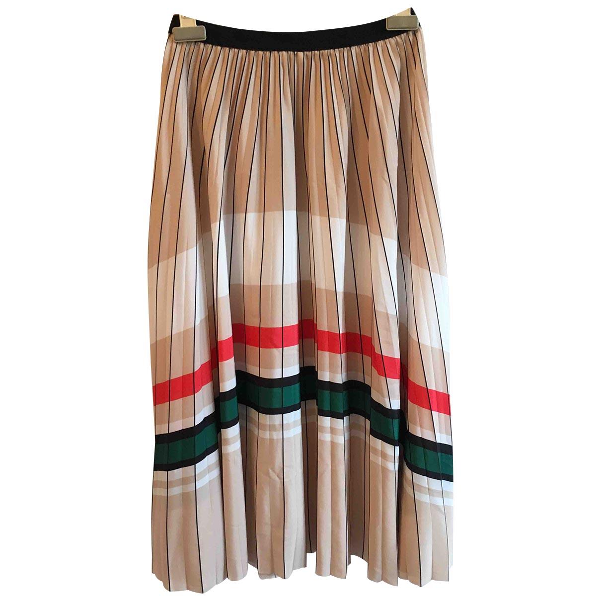 Claudie Pierlot Spring Summer 2019 Beige skirt for Women 36 FR