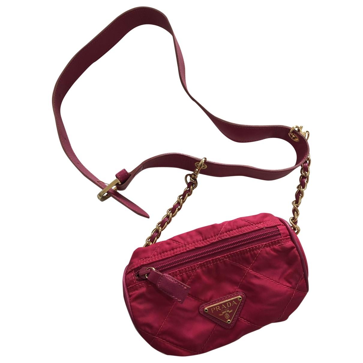 Prada Re-Nylon Pink Clutch bag for Women \N