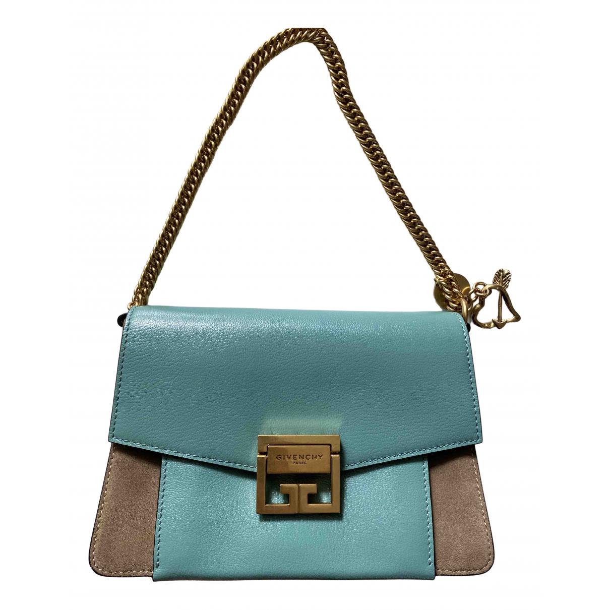 Givenchy - Sac a main GV3 pour femme en cuir - bleu