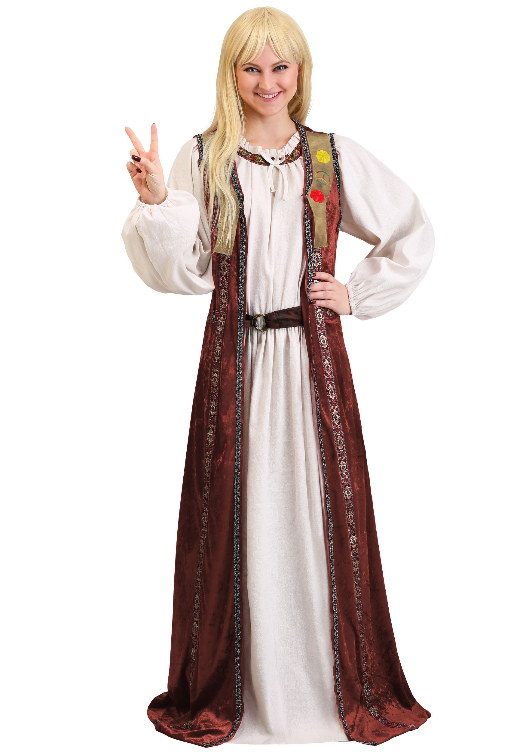Forrest Gump Jenny Curran Adult Costume for Women