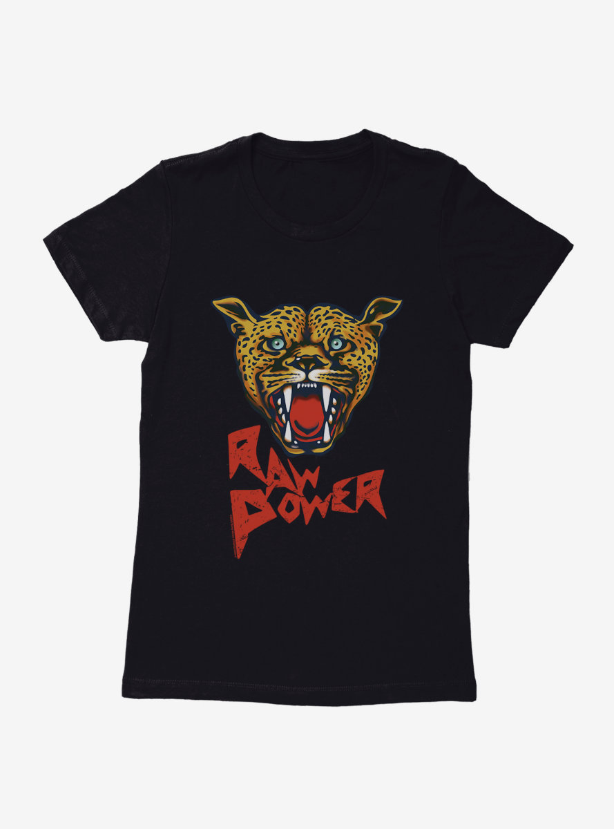 Iggy Pop Raw Power Womens T-Shirt