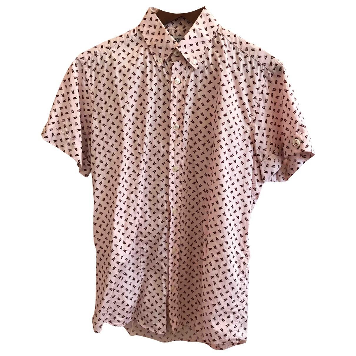 Moschino \N Pink Cotton Shirts for Men S International