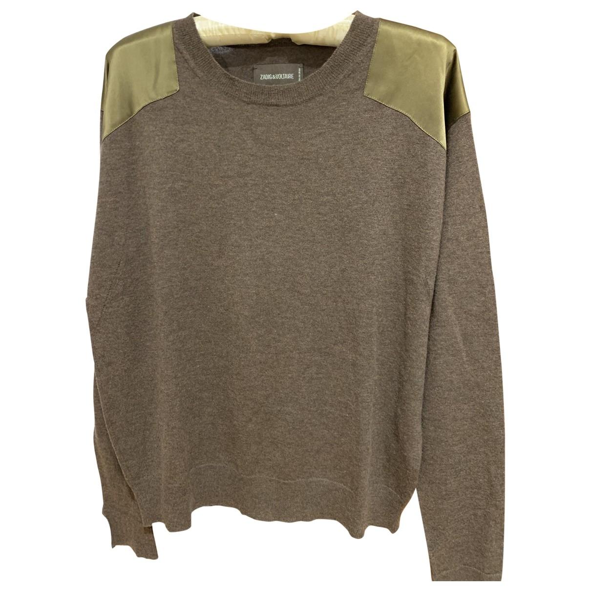 Zadig & Voltaire \N Green Cashmere Knitwear for Women S International