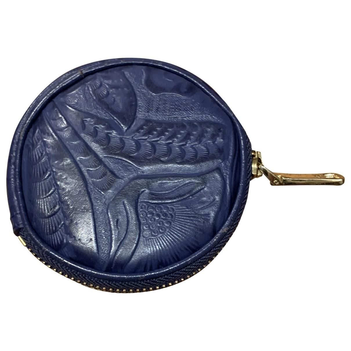 Bimba Y Lola - Petite maroquinerie   pour femme en cuir - bleu