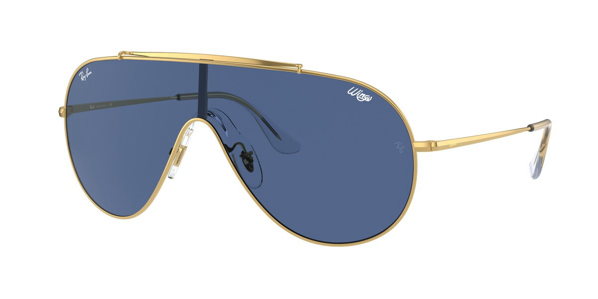 Ray-Ban RB3597 Wings 905080 Mens Sunglasses Gold Size 33