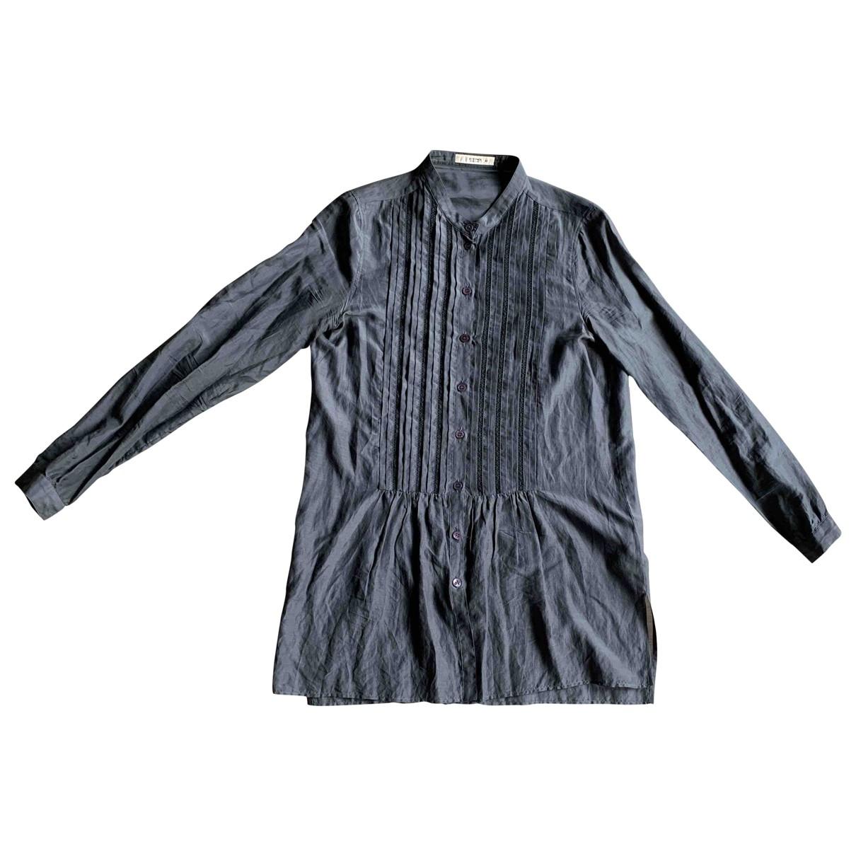 Etro \N Top in  Grau Baumwolle