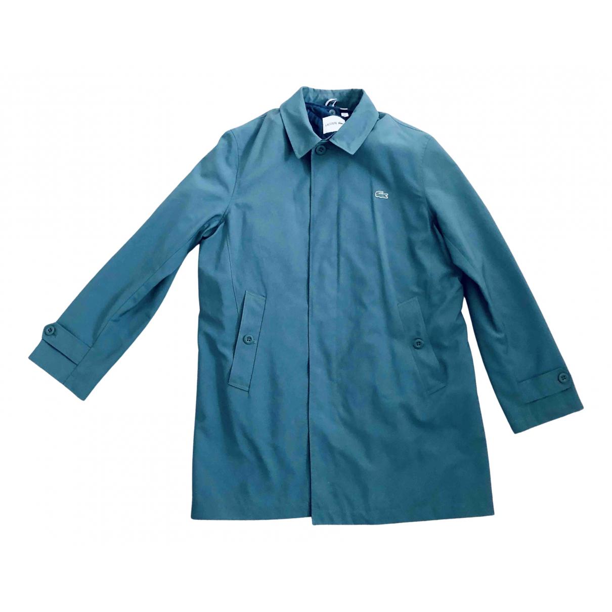 Lacoste - Manteau   pour homme - vert