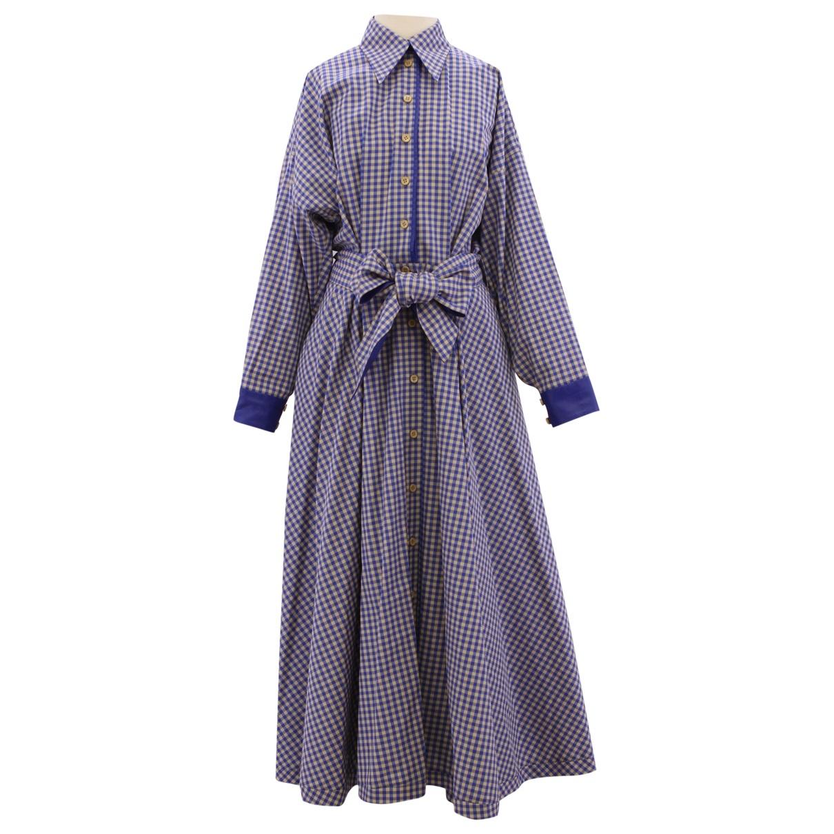 Vika Gazinskaya \N Kleid in  Bunt Baumwolle