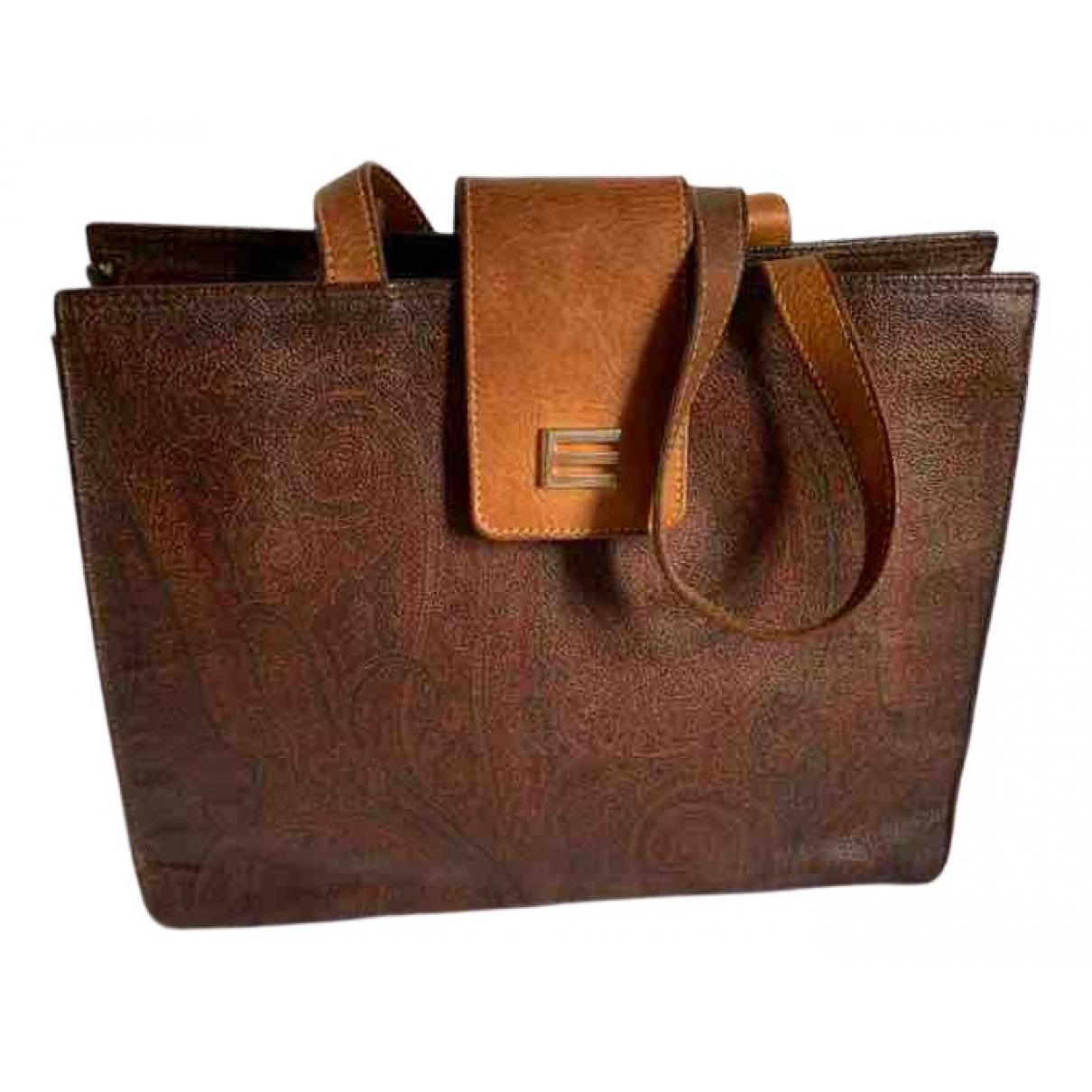 Etro \N Brown Cloth handbag for Women \N